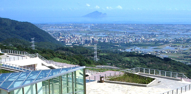 View of Lanyang Plain